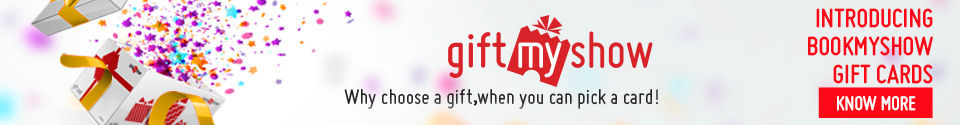 Introducing BookMyShow Gift Cards