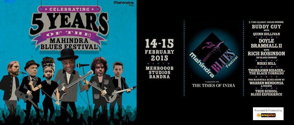 Mahindra Blues Festival 2015  in