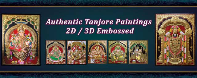 Authentic Tanjore Painting Gallery Visit