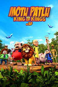 Motu Patlu - King of Kings (3D) (U)