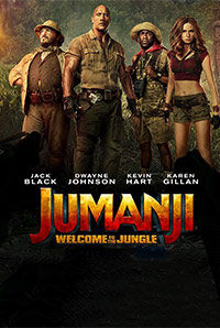 Jumanji: Welcome To The Jungle (3D Telugu) (U/A)