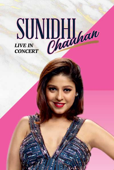 Sunidhi Chauhan Live In Concert at BookMyShow
