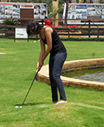 Golf putting Range