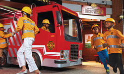 City of KidZania Mumbai Fire Department