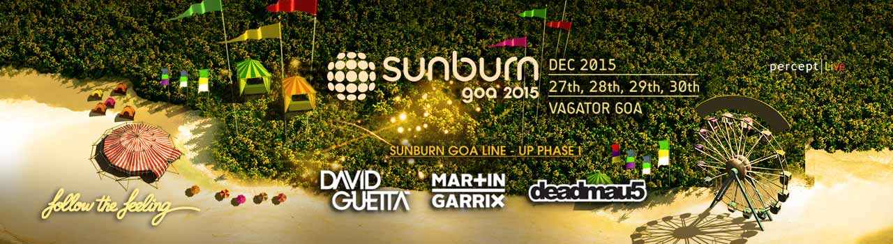 Sunburn Goa 2015  in Venue To Be Announced: Goa