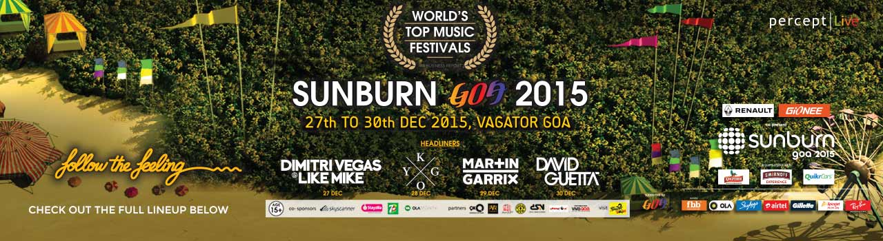 Sunburn Goa 2015  in