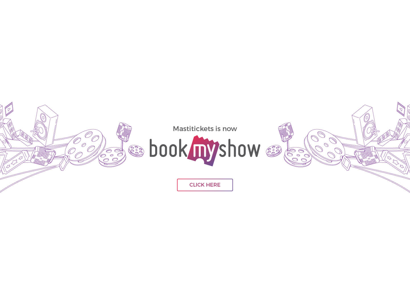 Mastitickets is now BookMyShow