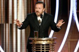 Ricky Gervais, comedy speeches