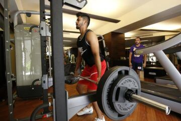 IPL Workout, Shreyas Iyer