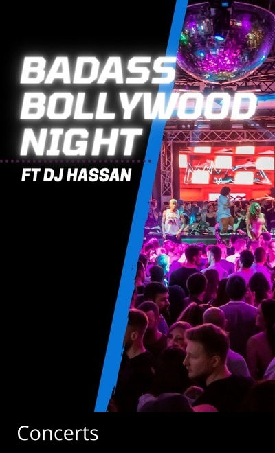 Badass Bollywood Night