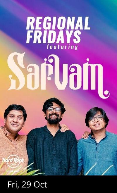 Regional Fridays ft. Sarvam