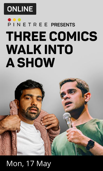 Three Comics walk into a show