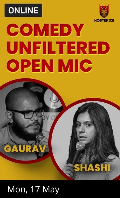 Comedy Unfiltered Open Mic ft.Shashi Dhiman