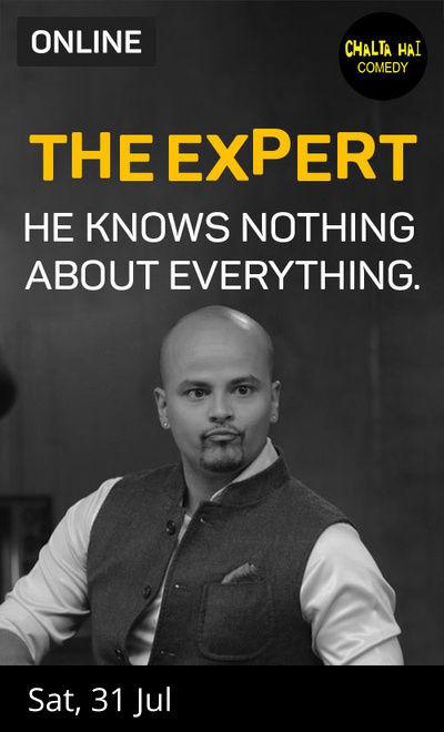 The Expert by Sorabh Pant ft. Azeem Banatwalla