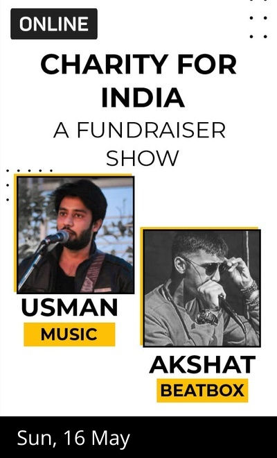 Charity For India : A Fundraiser Show