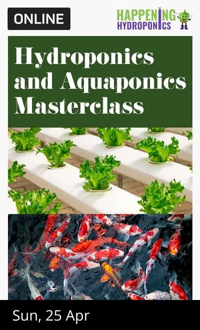 Hydroponics and Aquaponics Masterclass