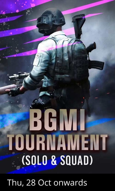BGMI Tournament (Solo & Squad) By VP Gaming