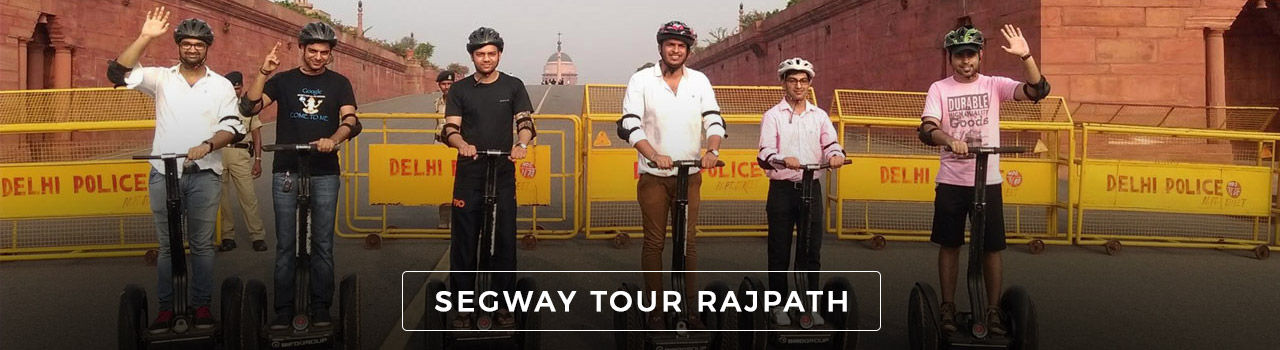 Segway Tour Rajpath  in South Block Of Secretariat On Vijay Chowk: Delhi