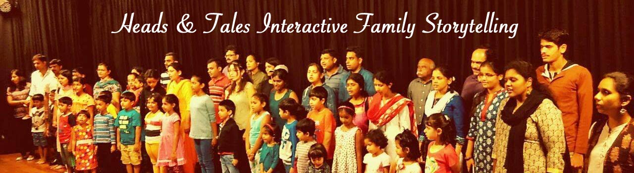 Heads and Tales Interactive Family Storytelling in Rangasthala Auditorium: Bengaluru