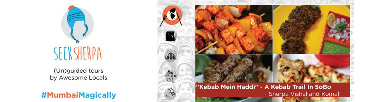 Kebab Mein Haddi - A Kebab Trail in SoBo in Outside Maratha Mandir Cinema: Mumbai