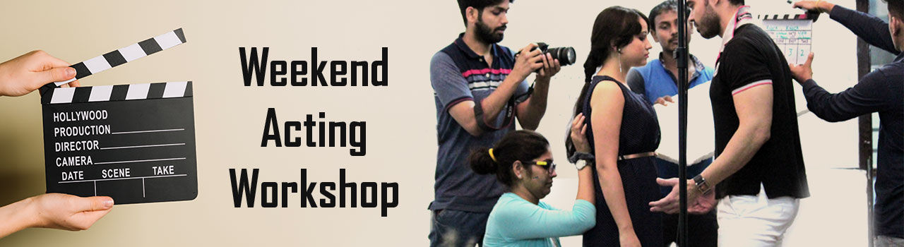 6 Weeks Weekend Acting Workshop  in Take One House: Delhi