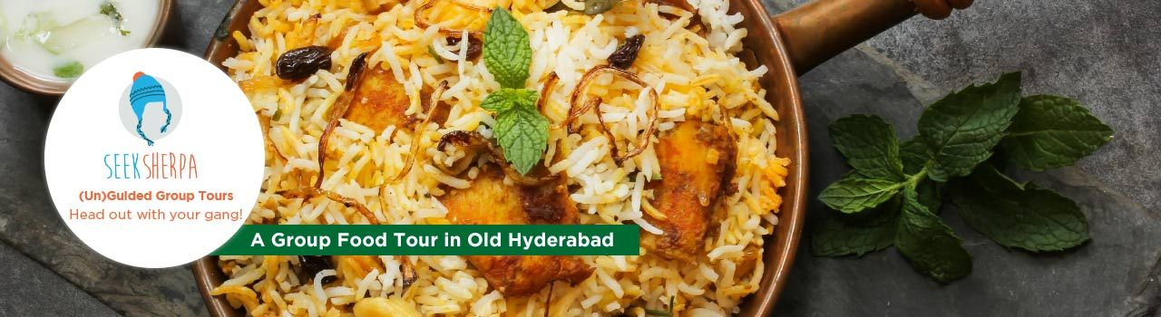 A Group Food Tour in Old Hyderabad in Nimrah Cafe and Bakery: Hyderabad