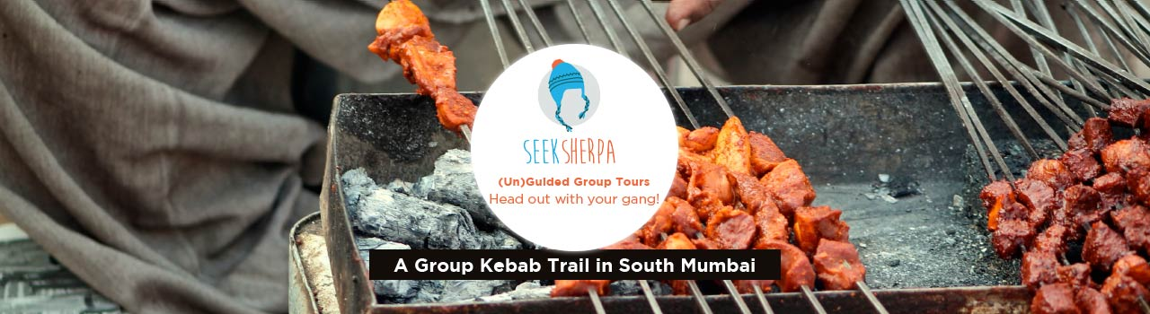 Kebab Mein Haddi - A Group Kebab Trail in South Mumbai in Outside Maratha Mandir Cinema: Mumbai