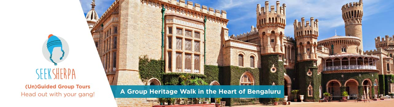 A Group Heritage Walk in the Heart of Bengaluru in Tipu Sultans Summer Palace: Bengaluru