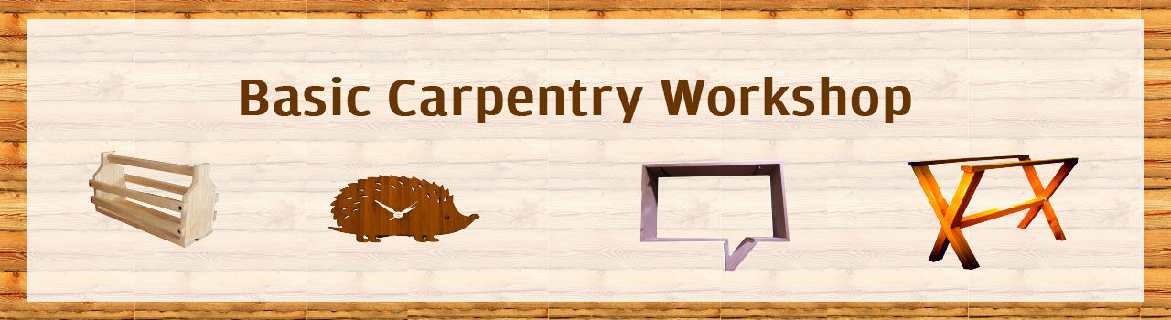 Basic Carpentry Workshop  in IKP Eden: Bengaluru