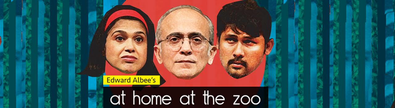 Deccan Herald Theatre Festival: JAGRITI Presents: At Home At The Zoo in Jagriti Theatre: Whitefield, Bengaluru