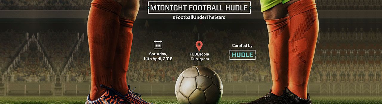 Midnight Football Hudle in FCBEscola Grounds: Gurgaon