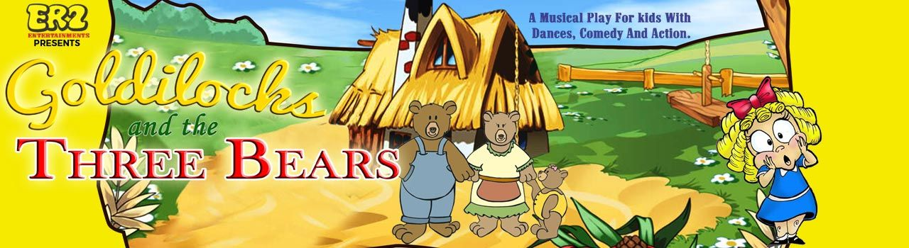 Goldilocks and the Three Bears  in Canvas Laugh Club