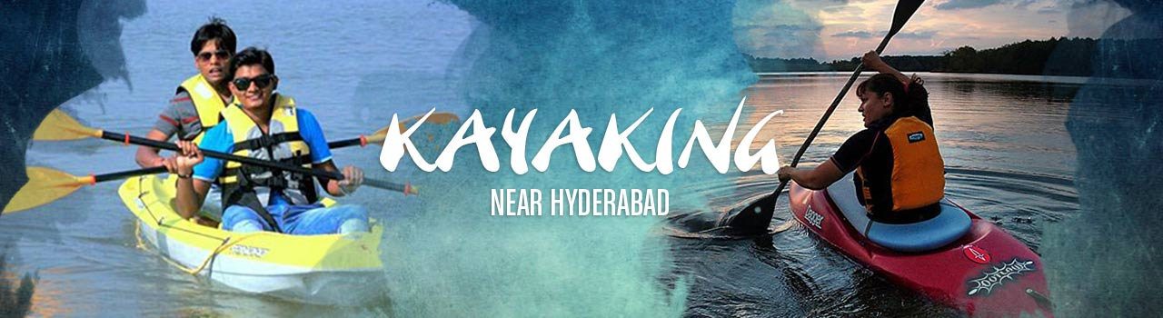 Kayaking near Hyderabad  in Kotpally Reservoir: Vikarabad