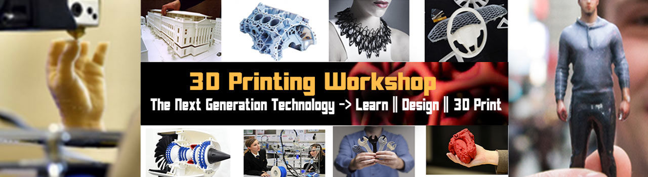 3D Printing Workshop  in Maker Academy: Hyderabad
