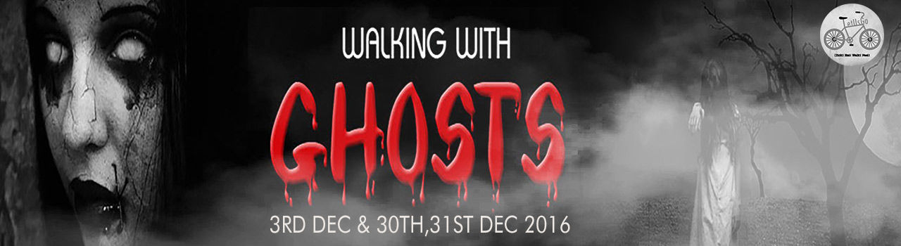 Walking With Ghosts  in New Market Sim Park: Kolkata