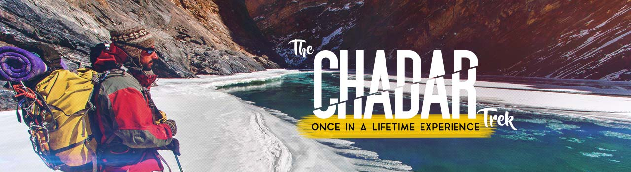 The Chadar Trek  in Tillet Do: Leh
