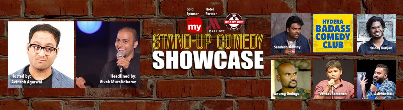 Stand-Up Comedy Showcase  in Heart Cup Coffee: Jubille Hills