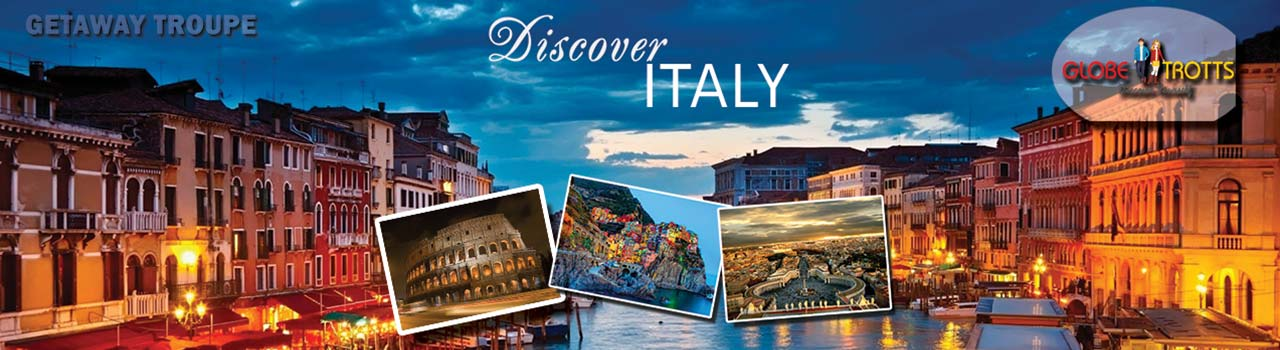 Discover Italy  in Leonardo Da Vinci International Airport: Italy