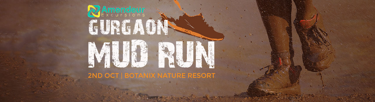 Gurgaon Mud Run  in Botanix Nature Resort: Gurgaon