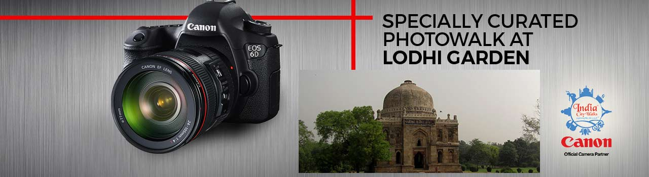 Specially Curated Photowalk at Lodhi Garden  in Lodhi Garden Khan Market Entrance Gate: New Delhi