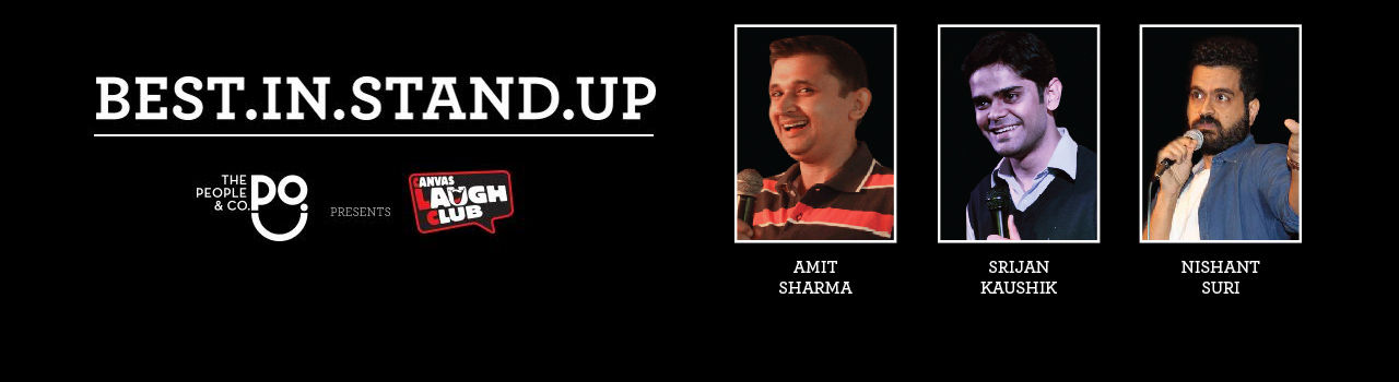Best in Stand-Up with Kunal Kamra and Anuvab Pal  in Canvas Laugh Club at The People & Co.