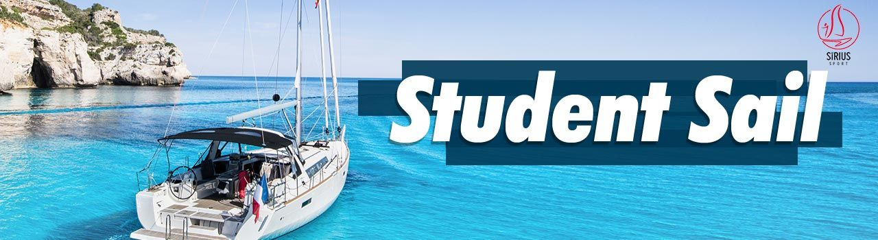 Sirius Sports - Student Sail (Cruising/ Boat Charter) - (2 pm)  in Jetty no 5: Mumbai