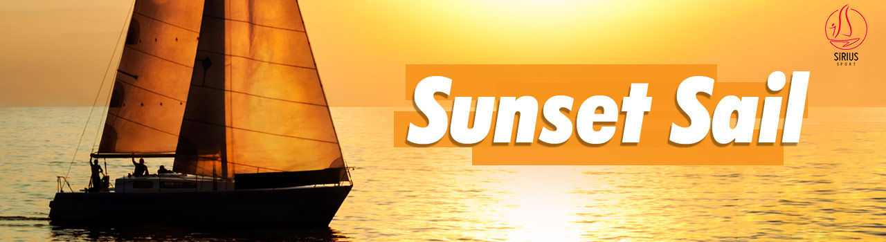 Sirius Sports - Sunset Sail (Sailing/ Boating) - (6 pm)  in Jetty no 5: Mumbai