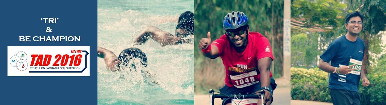 Fit I AM TAD Pune (Triathlon Aquathlon Duathlon)  in Shree Shiv Chhatrapati Sports Complex: Pune