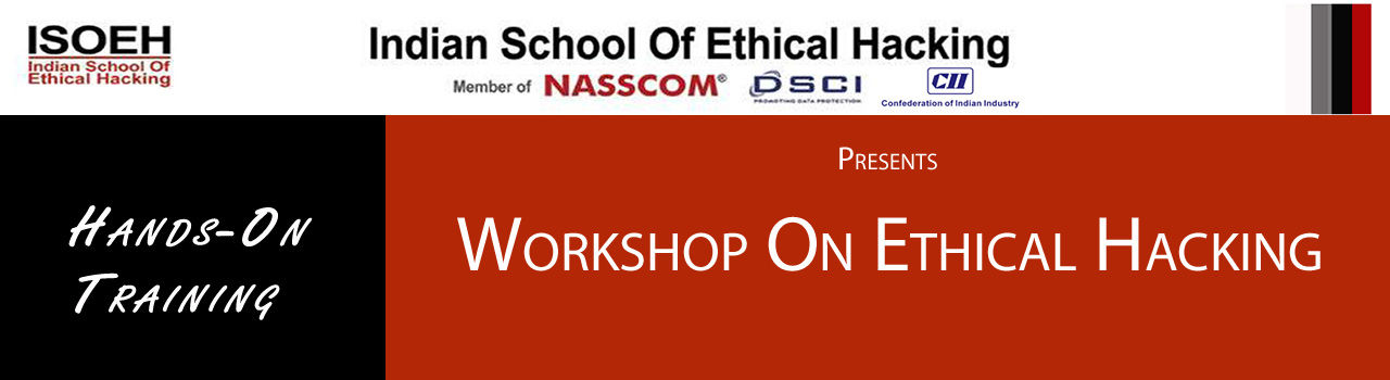1-Day Workshop on Ethical Hacking & Python Programming  in SDF Building: Kolkata
