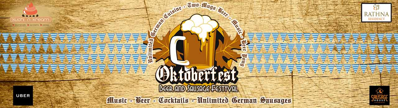 Oktoberfest Coimbatore Day 2  in Hotel Rathna Residency: Coimbatore