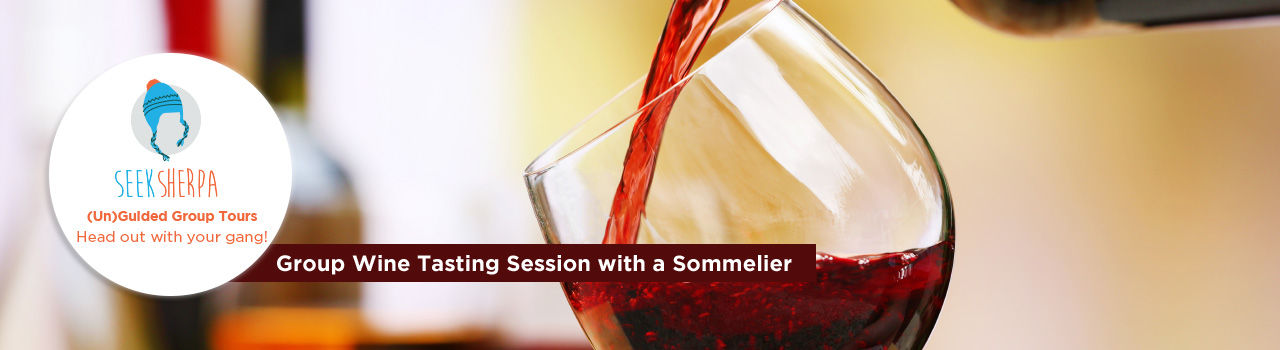 Group Wine Tasting Session with a Sommelier  in DLF Cyber Hub: Gurgaon