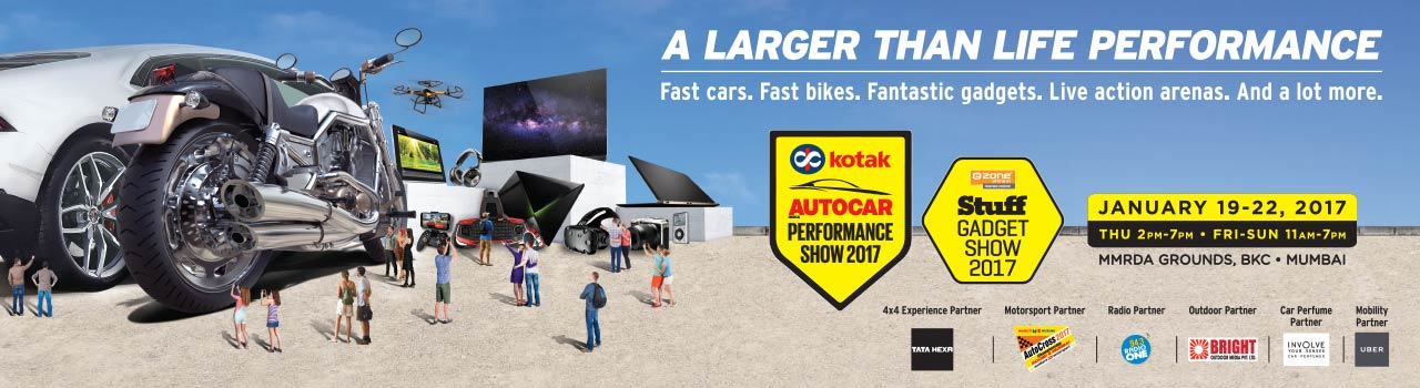 Autocar Performance Show and Stuff Gadget Show 2017  in