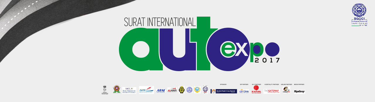 Surat International Auto Expo - 2017  in SIECC: Surat