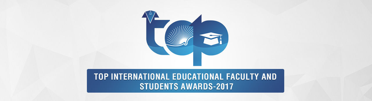 Top International Educational Faculty and Students Awards - 2017  in Ram's Meeting Hall: Puducherry